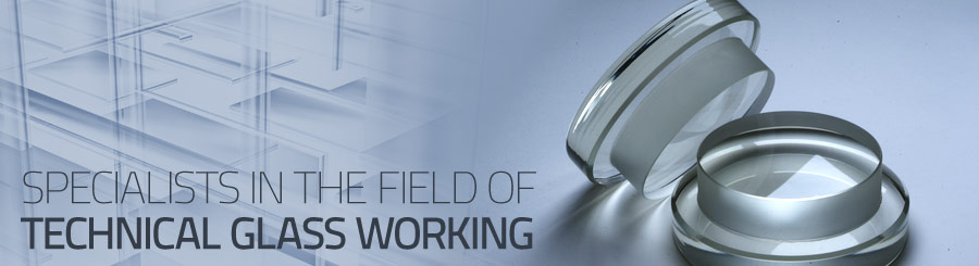 Specialists in the field of technical glass working
